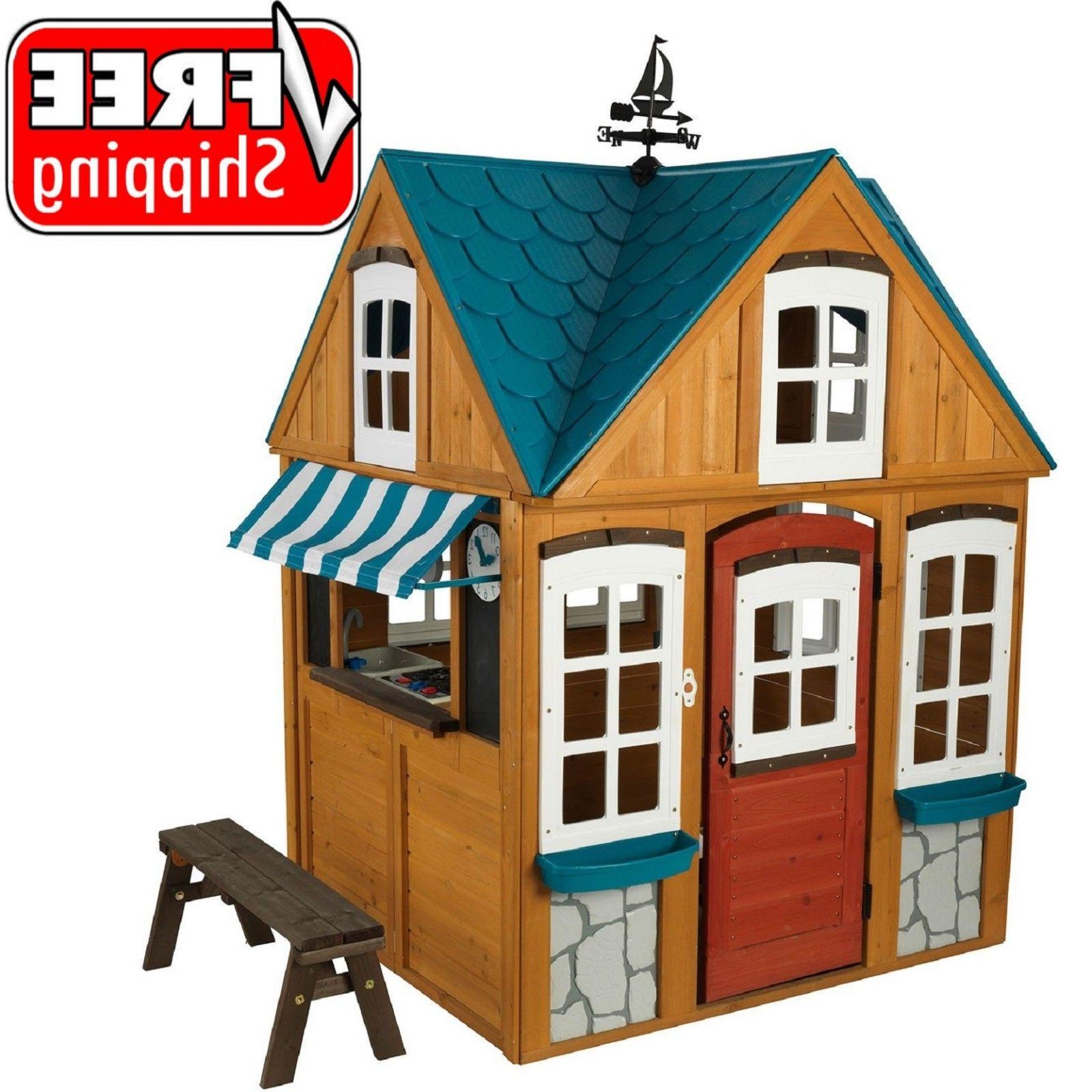 seaside cottage outdoor playhouse free shipping