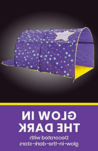 Alvantor Tents Bed Canopy Dream Kids Play Space Twin Grow Stars Boys Pop Up Portable Curtains Patent