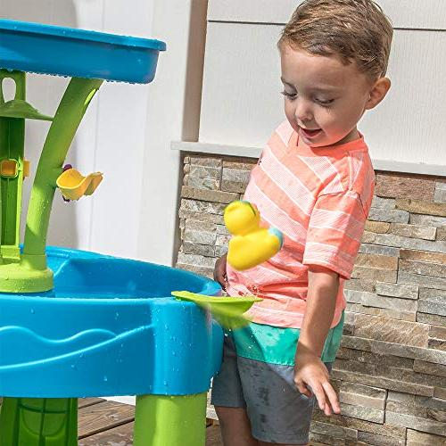 Step2 Showers Splash Water Table, Blue