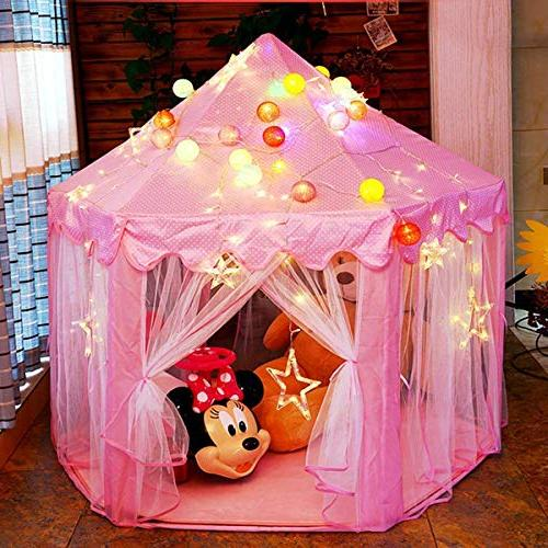 Castle Large Play Tent Dollhouse Indoor Great for Old Kids/boy/Girls/Baby/Infant