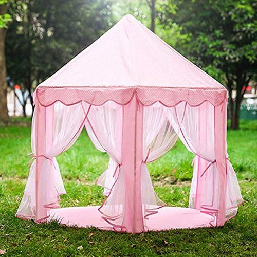 Anyshock Kids Castle House Tent Dollhouse and Indoor Tent Toy Great for 1-8 Years Old