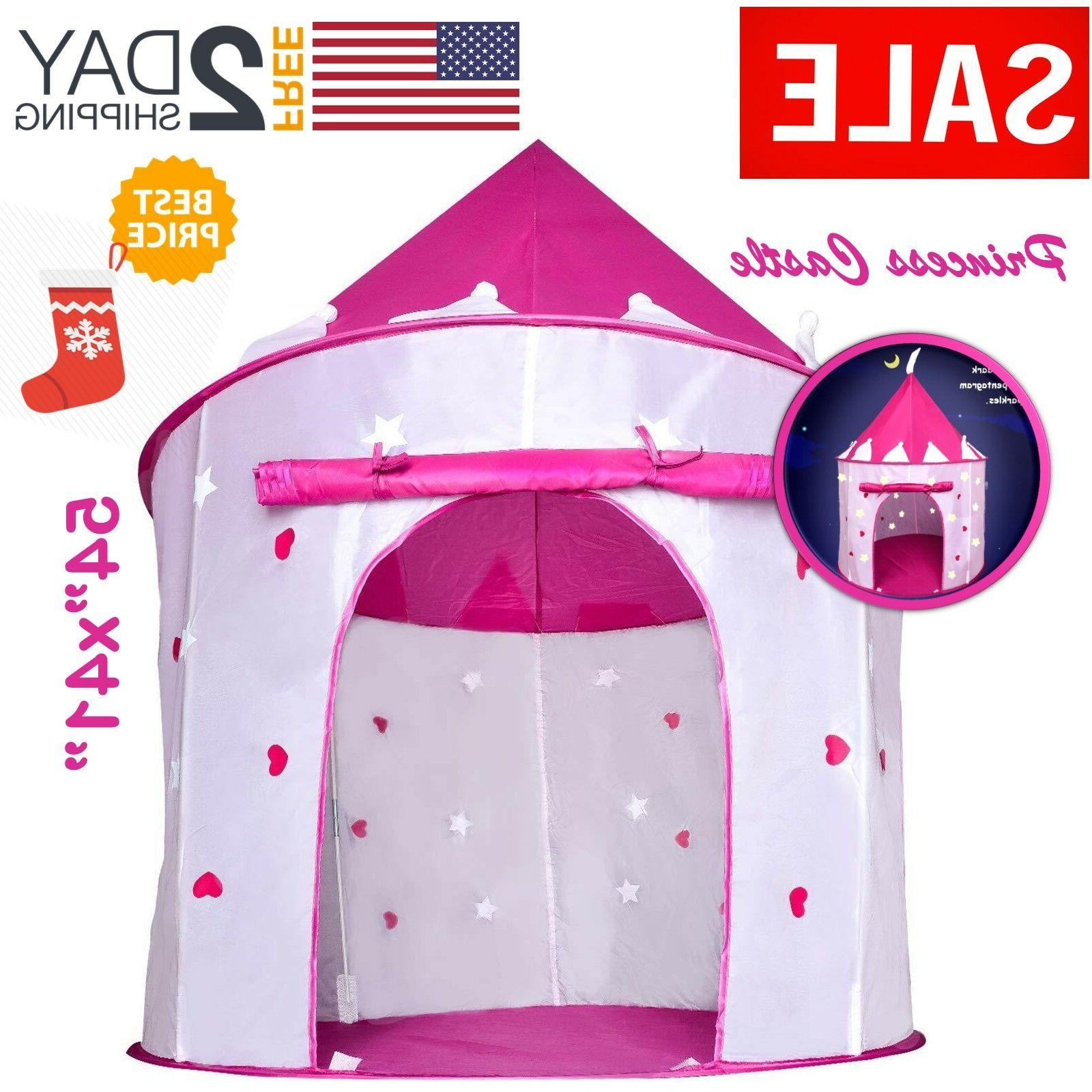 Toys For Girls Kids Children Play Tent House for 3 4 5 6 7 8