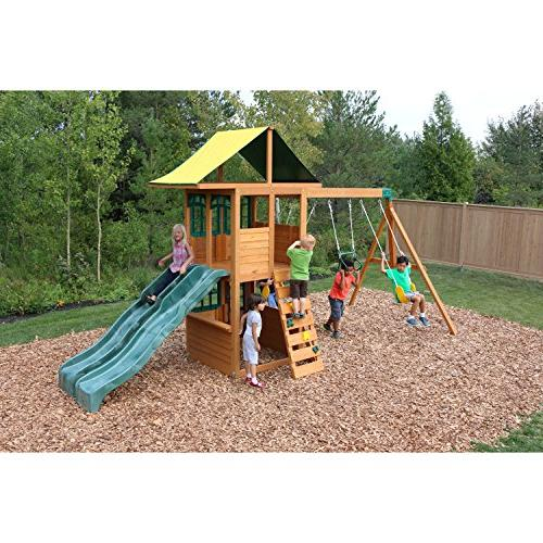 Treasure Wooden Swing Set by