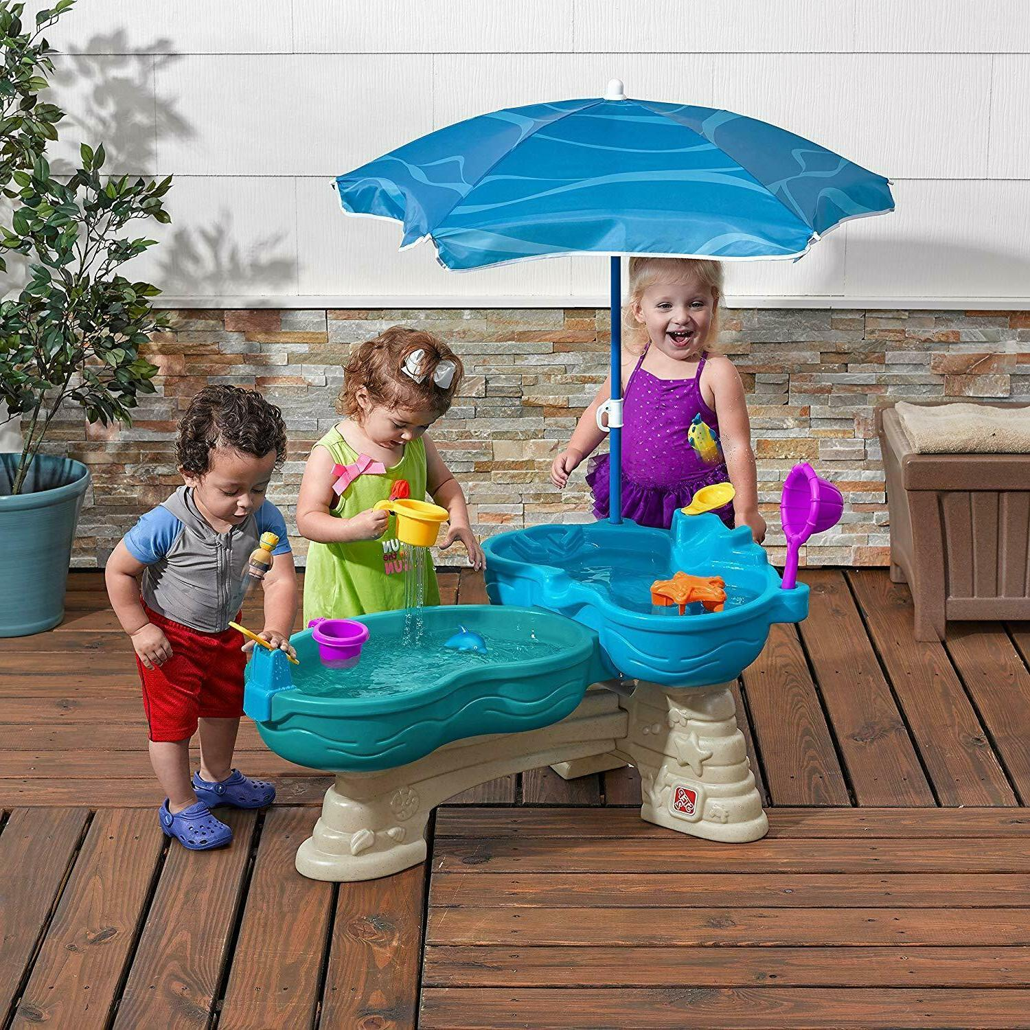 water table toy for kids spill