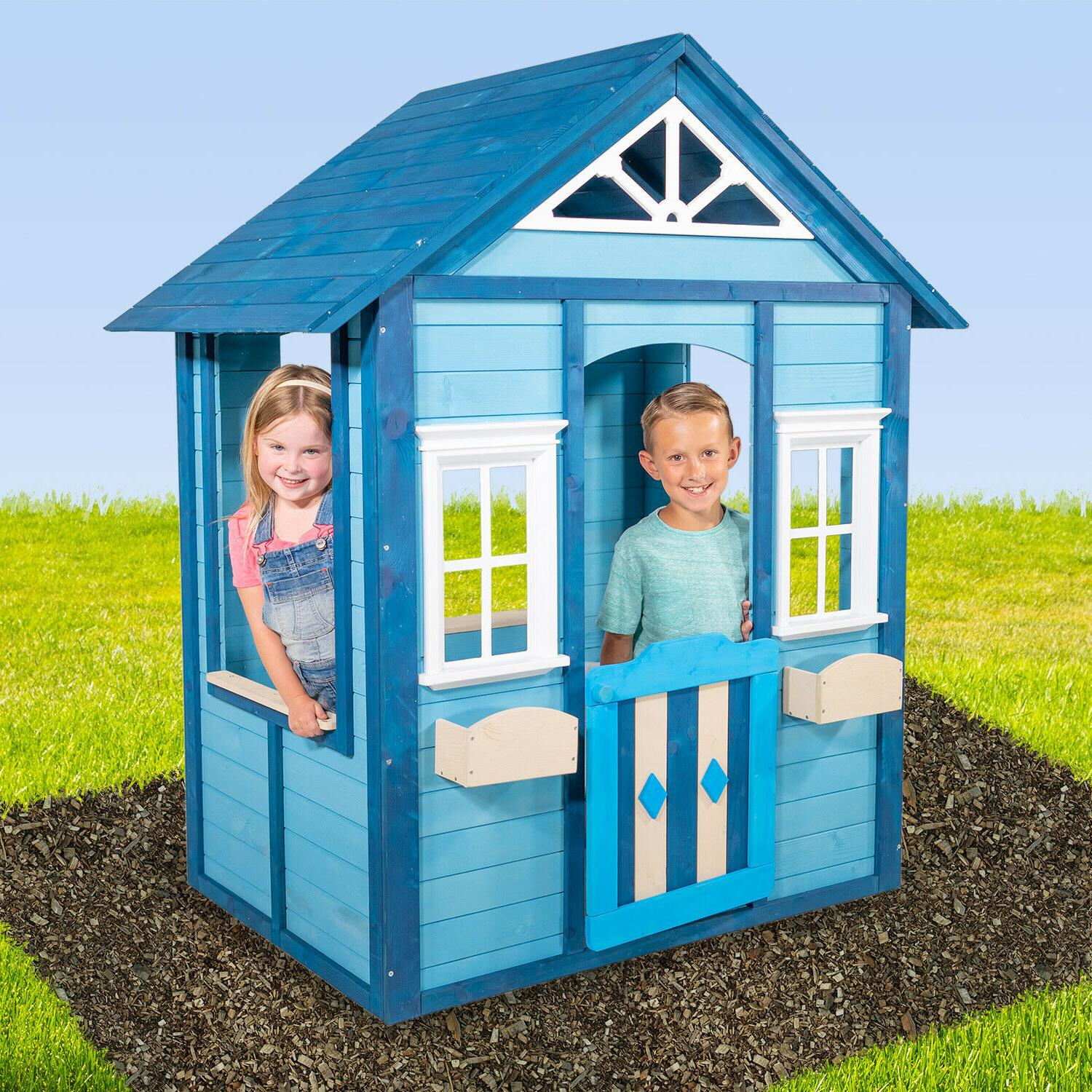 Easy Playhouse Woodbridge Blue