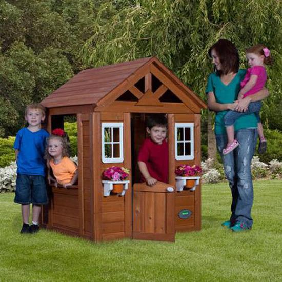 Outdoor Playhouse Kids Family Clubhouse