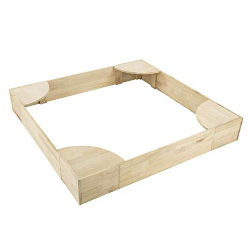Hey!Play! Sandbox with Built Seating- & for