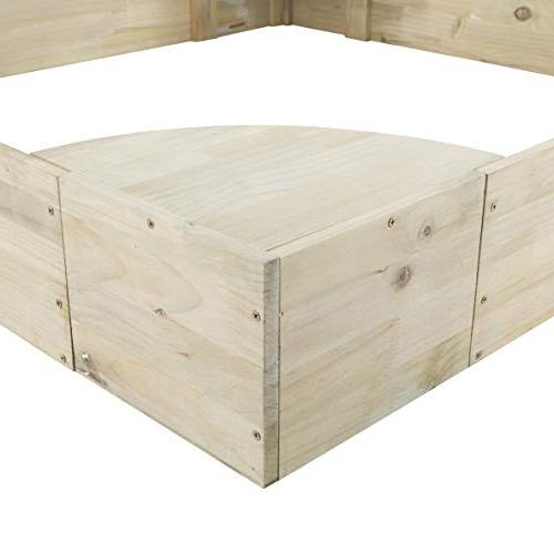 Hey!Play! Wooden with Built in Durable & Seats for