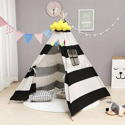 Large Kids Teepee Indoor Outdoor Play Tent Children Indian T