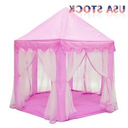 Large Princess Castle Play House Indoor/Outdoor Play Tent fo