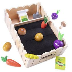 My Little Garden | Growing Vegetables Wooden Playset Activit