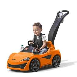 Step2 McLaren 570S Push Sports Car Ride-On Toy Outdoor Toddl