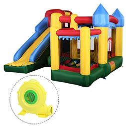 Costzon Mighty Inflatable Bounce House, Castle Jumper Moonwa