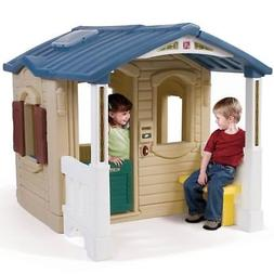 Step2 Naturally Playful Front Porch Playhouse - Kids Playhou