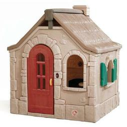 Step2 Naturally Playful Storybook Cottage Playhouse Backyard