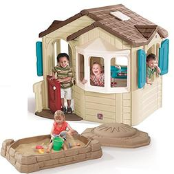 Step2 Naturally Playful Welcome Home Kids Playhouse and Sand