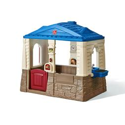 Step2 Neat and Tidy Cottage Blue Playhouse for Toddlers Indo