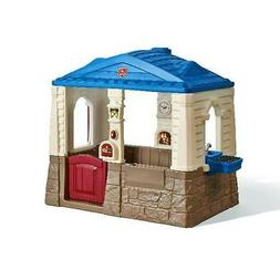 Neat Tidy Cottage Playhouse Step2 Outdoor Kids And Play Toy