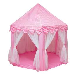 new portable foldable princess castle play tent