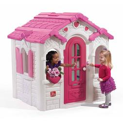 Outdoor Girls Playhouse Sweetheart Charming Decor Girl Patio