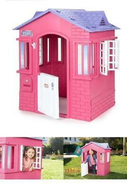 Outdoor Play Pink Playhouse Little Tikes Princess Cottage Ch