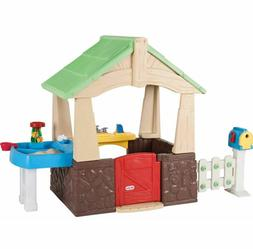 outdoor playhouse for kids boys girls toddler
