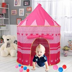 OUTDOOR PORTABLE FOLDING PLAY HENT CHILDRENS KIDS CASTLE CUB