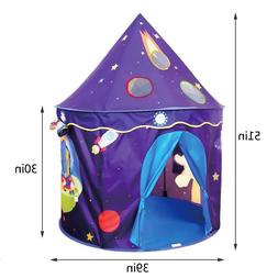 outdoor tent for kids foldable color purple