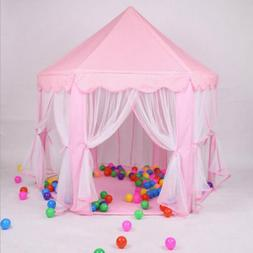 Pink Girl Large Princess Castle Play House Indoor/Outdoor Ki
