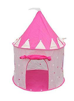 pink princess castle pop play