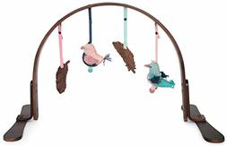 Finn + Emma Play Gym, Organic Cotton and Natural Wood with H