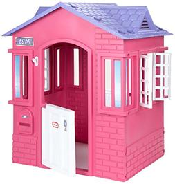 Girls Play House Indoor Outdoor Toys Set Pink Hut Pretend Co