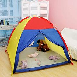 WolfWise Large Kids Play Tent Indoor Outdoor Playhouse Toddl