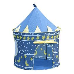 XuBa 2 Colors Outdoor Play Tent Portable Foldable Tipi Princ