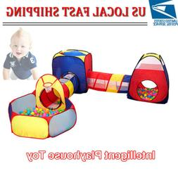 Play Tent Tunnel Kids Toy Outdoor Child Playhouse Ball Pop U