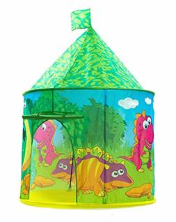 PLAY10 Dinosaur Play Tent for Kids Indoor/Outdoor Fun with Z