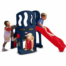 Kids Outdoor Playground Hide Slide Climber Jungle Gym Toddle
