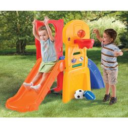 Playhouse For Boys Slides Kids Girls Climber Fun Game Outdoo