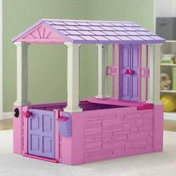 Playhouse For Kids Girls Toddler Toys Cottage Outdoor Indoor