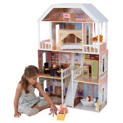 Playhouse Dollhouse Wooden Furniture Doll Girls Barbie Size