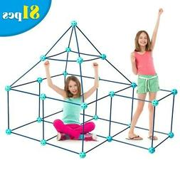 Playhouse for Kids Playset Portable Fort Building Kit Indoor
