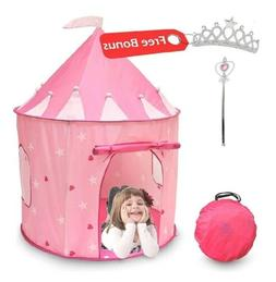 Playhouse Princess Castle Kids Play Tent Indoor/Outdoor Play