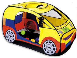Biscount Pop-Up Cartoon Car Play Tent Indoor & Outdoor Playh