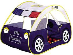 Biscount Pop-Up Police Car Play Tent Indoor & Outdoor Playho