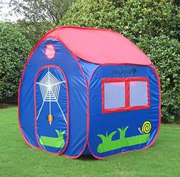 GreEco Kids Pop Up Tent, Play House Tent, 4 X 3.45 X 3.45 Fe