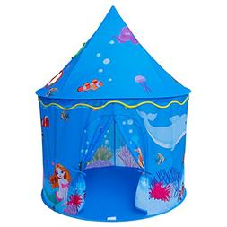 ALPIKA Pop-Up Tent for Kids Toy Playhouse Castle Princess Pl