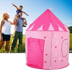 Princess Castle Play House Pink Indoor/Outdoor Kids Play Ten