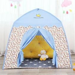 Princess Castle Play Tent Kids Girl Boy Play House Indoor Ou