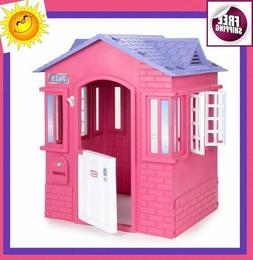 Princess Cottage Playhouse Patio Outdoor Indoor Play House K