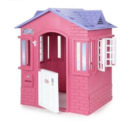 Little Tikes Princess Cottage Playhouse, Pink Outdoor Indoor
